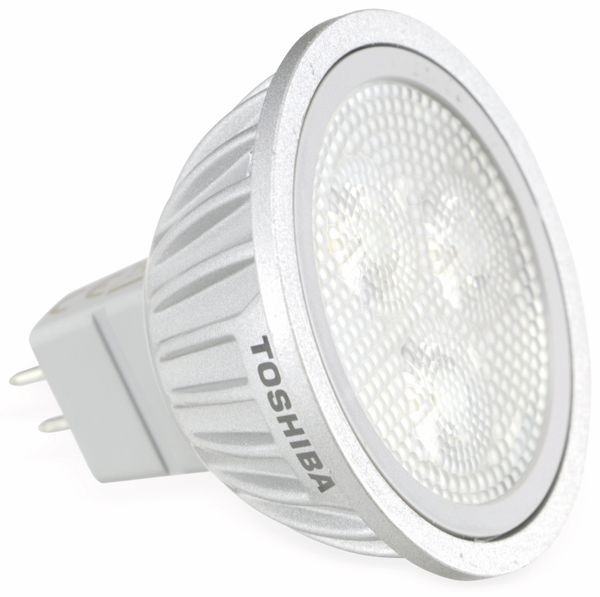 LED-Lampe TOSHIBA E-CORE MR16 LDRA0527MU5EU3, EEK: A, 5,2 W, 2700 K - Produktbild 1