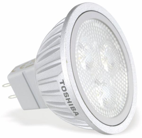 LED-Lampe TOSHIBA E-CORE MR16 LDRA0540MU5EU3, 5,2 W, 4000 K - Produktbild 1