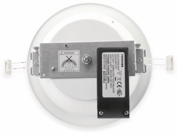 LED-Einbauleuchte TOSHIBA PACK omni mini LEDEUD00111S27,EEK.A, weiß - Produktbild 3