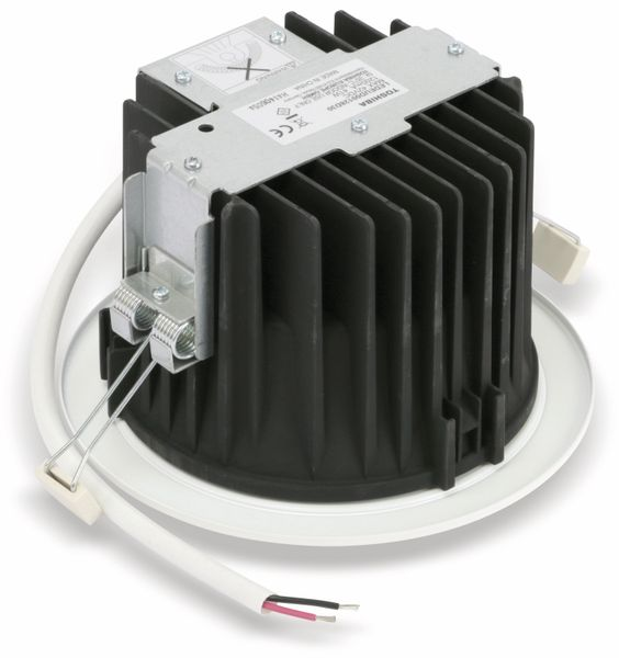 LED-Einbauleuchte TOSHIBA E-CORE LED DOWNLIGHT 3000, EEK: A, 2730 lm, weiß - Produktbild 3