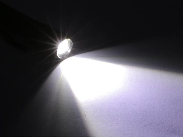 LED-Taschenlampe, Alu, 10 W CREE-LED, Fokus-Zoom Licht, B-Ware - Produktbild 3
