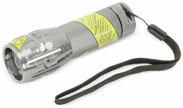 LED-Taschenlampe, Alu, 5 W CREE-LED, anthrazit