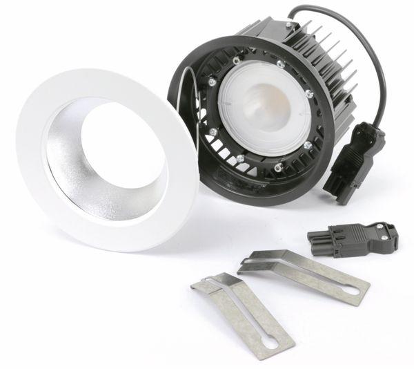 LED-Einbauleuchte TOSHIBA E-CORE LED DOWNLIGHT 1100, weiß - Produktbild 1