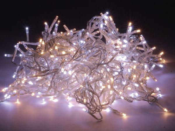 LED-Büschellichterkette Cluster, 384 LEDs, warm-/kaltweiß, 230V~, B-Ware