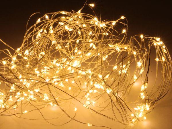 Led Lichterkette Warmweiß 300 Leds Halbtransparent 230v Innen