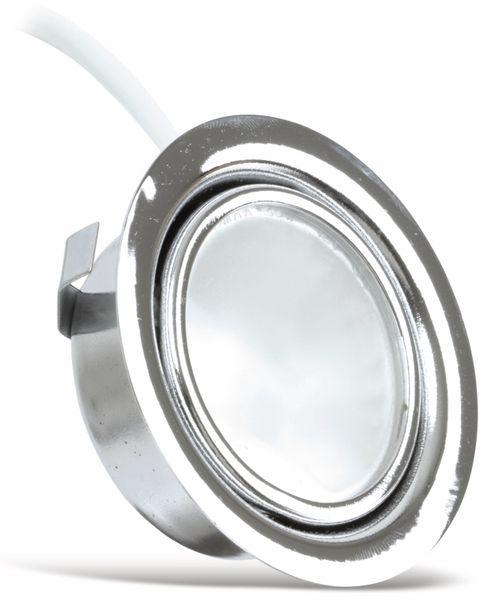 Einbauspot MÜLLER-LICHT 11052, EEK: C, 20 W, 300 lm, 3000 K, chrome - Produktbild 1