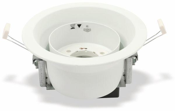 Decken-Einbauleuchte TOSHIBA LEDEUD00127C, GX53, schwenkbar, weiß - Produktbild 3