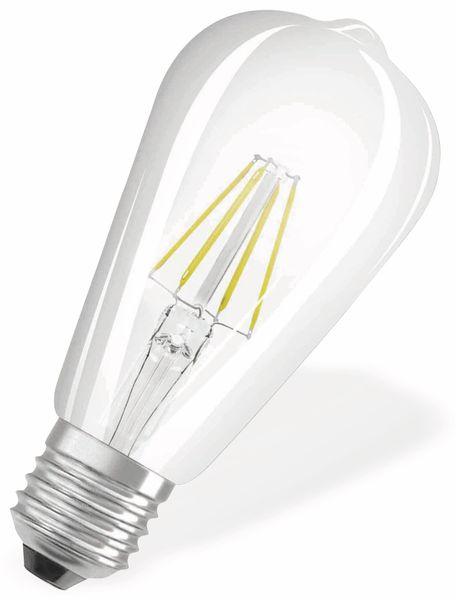 LED-Lampe OSRAM RETROFIT, E27, EEK: A++, 4 W, 470 lm, 2700 K, ST64 - Produktbild 2