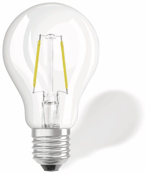 LED-Lampe OSRAM RETROFIT, E27, EEK A++, 1,6 W, 136 lm, 2700 K - Produktbild 1