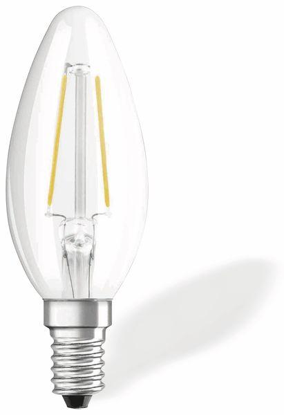 LED-Lampe OSRAM RETROFIT, E14, EEK: A++, 2,1 W, 250 lm, 2700 K, B35