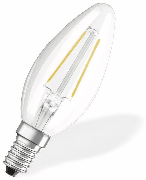 LED-Lampe OSRAM RETROFIT, E14, EEK: A++, 2,1 W, 250 lm, 2700 K, B35 - Produktbild 2