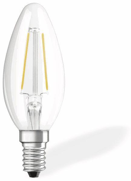 LED-Lampe OSRAM RETROFIT, E14, EEK: A++, 1,2 W, 136 lm, 2700 K, B35 - Produktbild 1