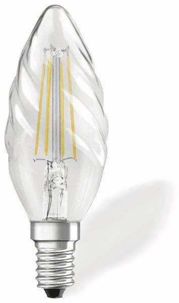 LED-Lampe OSRAM RETROFIT, E14, EEK: A++, 4 W, 470 lm, 2700 K, BW35 - Produktbild 1