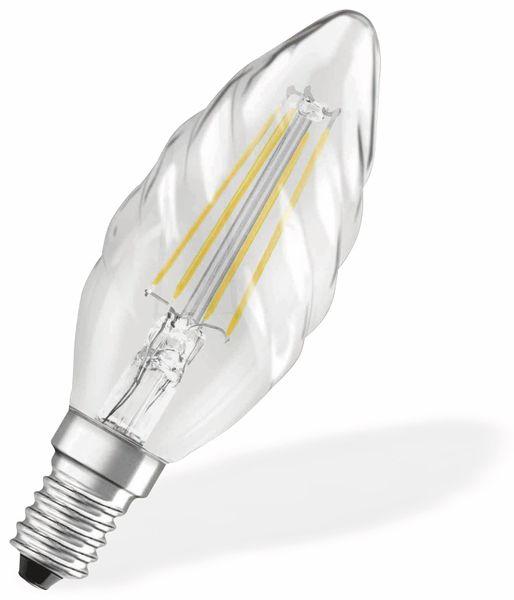 LED-Lampe OSRAM RETROFIT, E14, EEK: A++, 4 W, 470 lm, 2700 K, BW35 - Produktbild 2