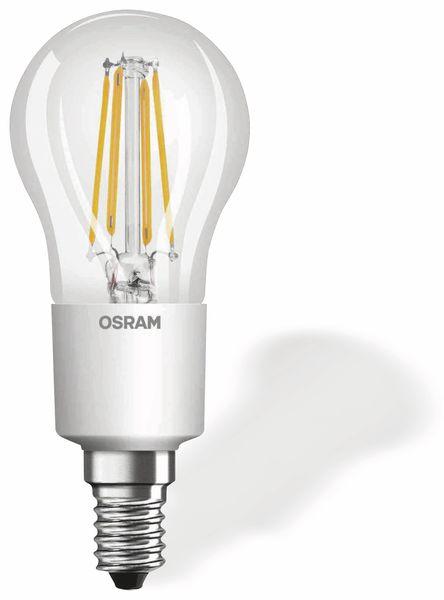 LED-Lampe OSRAM RETROFIT, E14, EEK: A++, 4,5 W, 470 lm, 2700 K, P45 - Produktbild 1