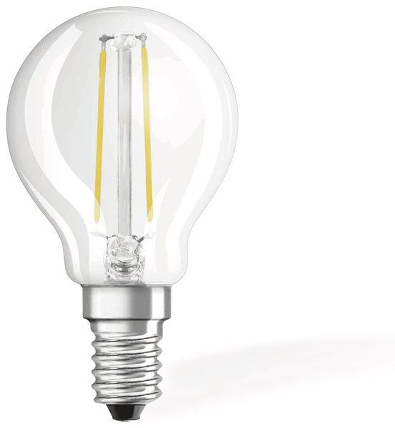 LED-Lampe OSRAM RETROFIT, E14, EEK: A++, 2,1 W, 250 lm, 2700 K, P45 - Produktbild 1