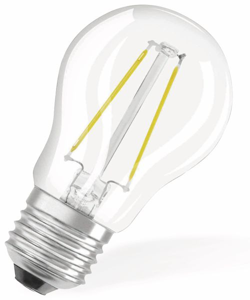 LED-Lampe OSRAM RETROFIT, E27, EEK: A++, 2,8 W, 250 lm, 2700 K, P45 - Produktbild 2