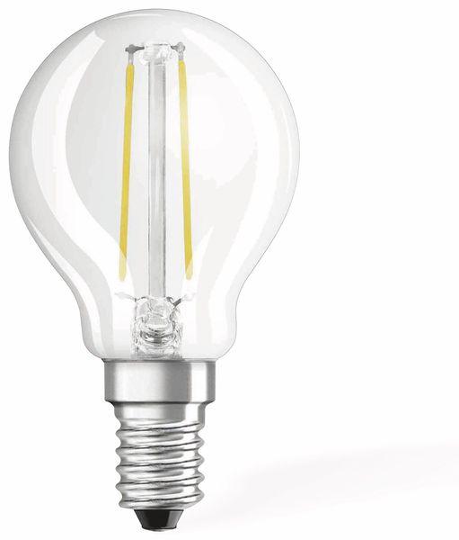 LED-Lampe OSRAM RETROFIT, E14, EEK: A++, 1,4 W, 136 lm, 2700 K, P45