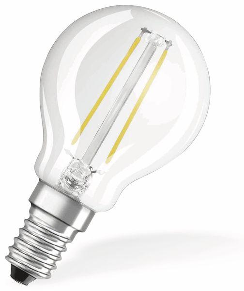 LED-Lampe OSRAM RETROFIT, E14, EEK: A++, 1,4 W, 136 lm, 2700 K, P45 - Produktbild 2