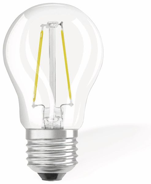 LED-Lampe OSRAM RETROFIT, E27, EEK: A++, 1,6 W, 136 lm, 2700 K - Produktbild 1