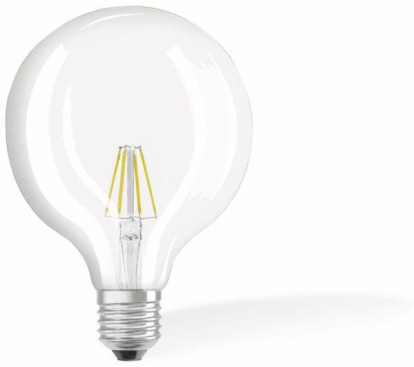 LED-Lampe OSRAM RETROFIT, E27, EEK: E, 6 W, 806 lm, 2700 K, G125