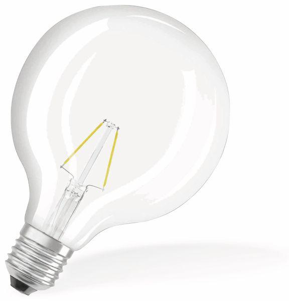 LED-Lampe OSRAM RETROFIT, E27, EEK: F, 2 W, 250 lm, 2700 K, G125 - Produktbild 2