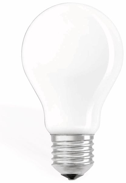 LED-Lampe OSRAM RETROFIT, E27, 6,5 W, 806 lm, 2700 K, dimmbar, matt