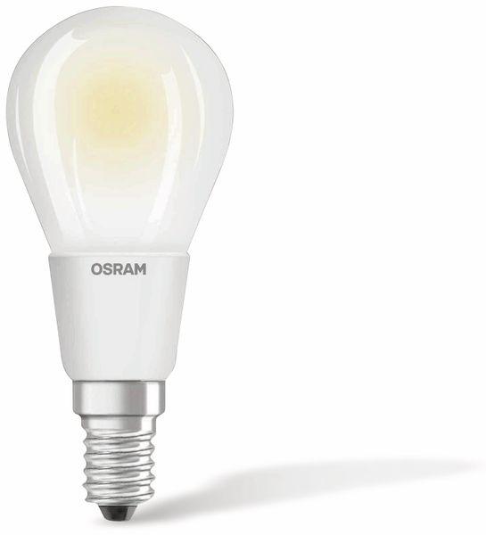 LED-Lampe OSRAM RETROFIT CLASSIC P, E14, EEK: A+, 5 W, 470 lm, 2700 K - Produktbild 1