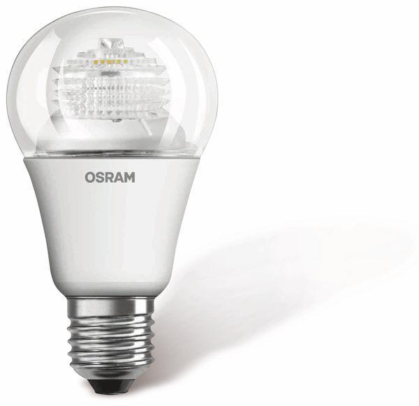 LED-Lampe OSRAM SUPERSTAR CLASSIC A, E27, EEK: A+, 6 W, 470 lm, 2700 K, A60 - Produktbild 1