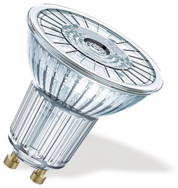 LED-Lampe OSRAM SUPERSTAR PAR16, GU10, EEK: A+, 7,2 W, 575 lm, 2700 K - Produktbild 2