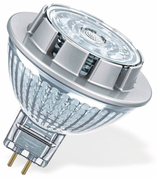 LED-Reflektorlampe OSRAM SUPERSTAR, GU5.3, EEK: A+, 7,8 W, 621 lm, 2700 K - Produktbild 2