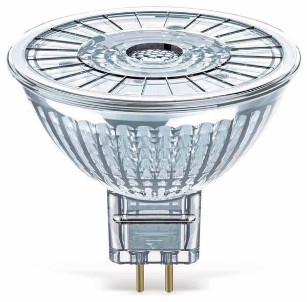LED-Reflektorlampe OSRAM SUPERSTAR, GU5.3, EEK: A+, 3 W, 230 lm, 2700 K