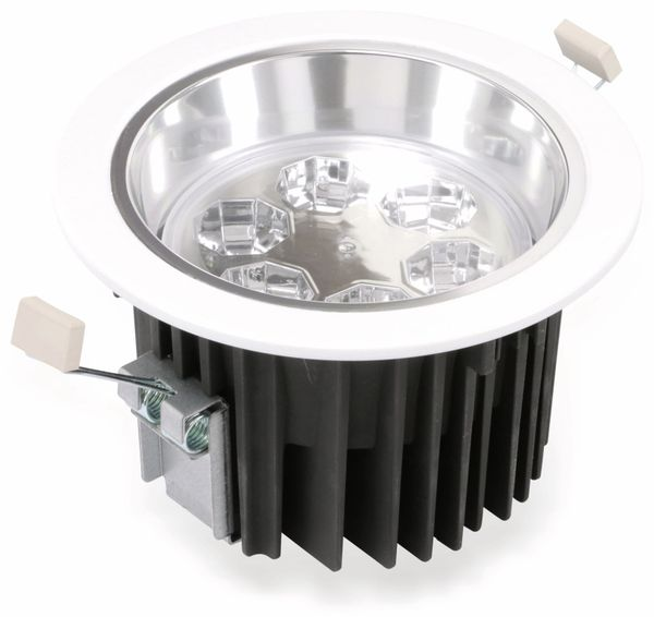 LED-Einbauleuchte TOSHIBA E-CORE LED DOWNLIGHT 3000, EEK: A, weiß