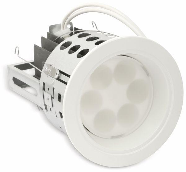 LED-Einbauleuchte TOSHIBA E-CORE LED DOWNLIGHT 6000, EEK: A, weiß - Produktbild 1