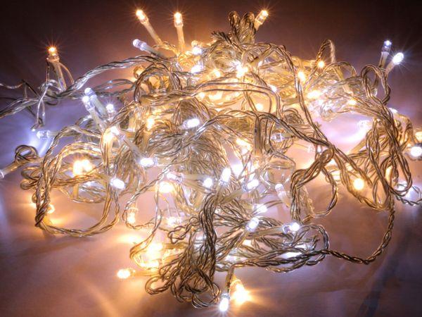 LED-Lichterkette GP-LT240V0250(EU), 128 LEDs, kaltweiß/warmweiß, 230V~ - Produktbild 1