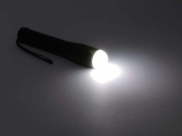 LED-Taschenlampe, Alu, 10 W CREE-LED, Fokus-Zoom Licht, schwarz - Produktbild 5