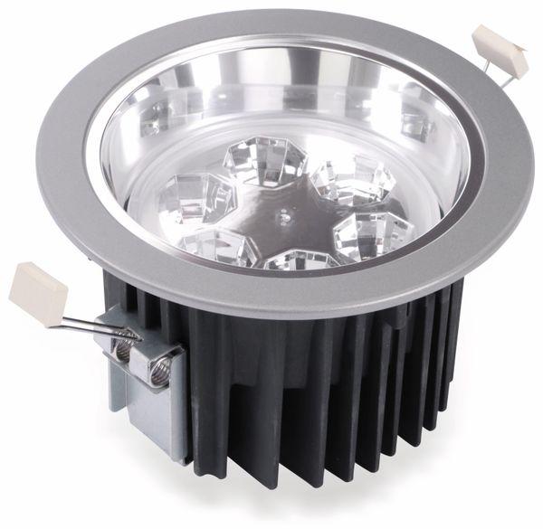 LED-Einbauleuchte TOSHIBA E-CORE LED DOWNLIGHT 3000, EEK: A, silber - Produktbild 1