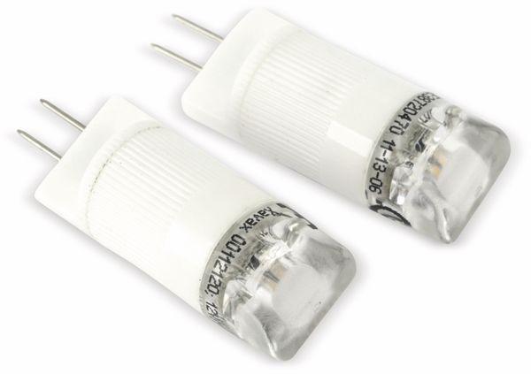 LED-Stiftsockellampen-Set XAVAX 112120, G4, EEK: A++, 1 W, 80 lm, 2700 K - Produktbild 1