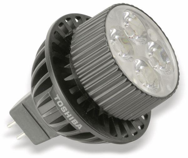 LED-Lampe TOSHIBA LDRA0927MU5EU, GU5.3, EEK: A, 9 W, 410 lm, 2700 K - Produktbild 1