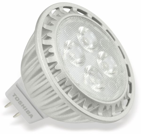 LED-Lampe TOSHIBA LDM004A30M30DEU, GU5.3, EEK: A, 6,5 W, 350 lm, 3000 K - Produktbild 1