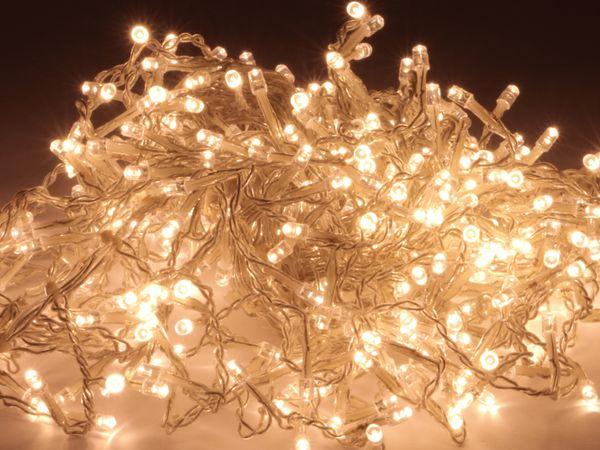 LED-Lichterkette WL-LED-408l, warmweiß, 408 LEDs, 230V~, IP44 - Produktbild 1