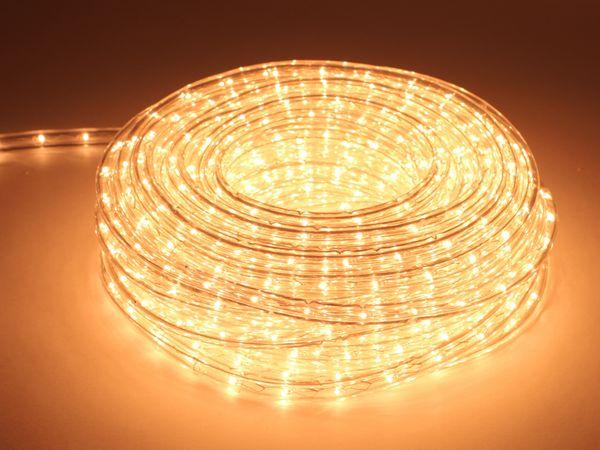 Lichtschlauch, 720 Lampen, 20 m, warmweiß - Produktbild 1