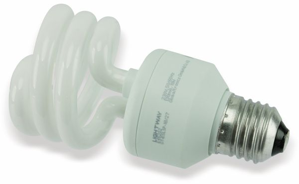 Energiesparlampe GT-ESLsp 18/27, E27, EEK: A, 18 W, 1130 lm, 2700K - Produktbild 1