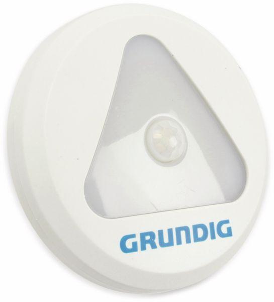LED-Sensorlampe Grundig, mit Bewegungsmelder, Batteriebetrieb, weiß