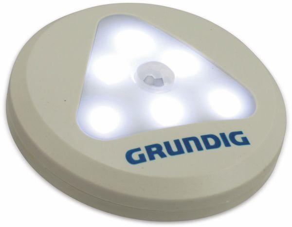 LED-Sensorlampe Grundig, mit Bewegungsmelder, Batteriebetrieb, weiß - Produktbild 3