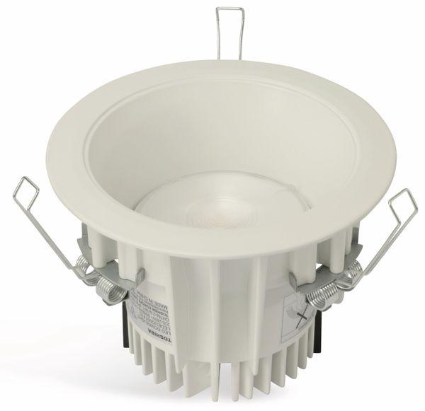 LED-Deckeneinbauleuchte TOSHIBA LEDEUD00145S30, EEK: A, 12,7 W, 970 lm - Produktbild 1