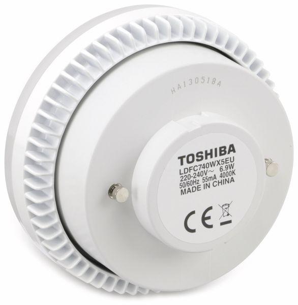 LED-Lampe TOSHIBA E-CORE LDFC727WX5EU, EEK: A, 6,9 W, 510 lm, 2700 K - Produktbild 2