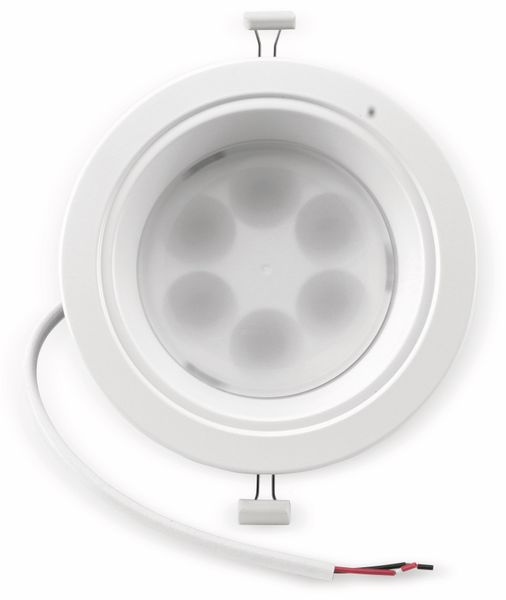 LED-Einbauleuchte TOSHIBA E-CORE LED DOWNLIGHT 3000, EEK: A, 3000 K, weiß - Produktbild 1