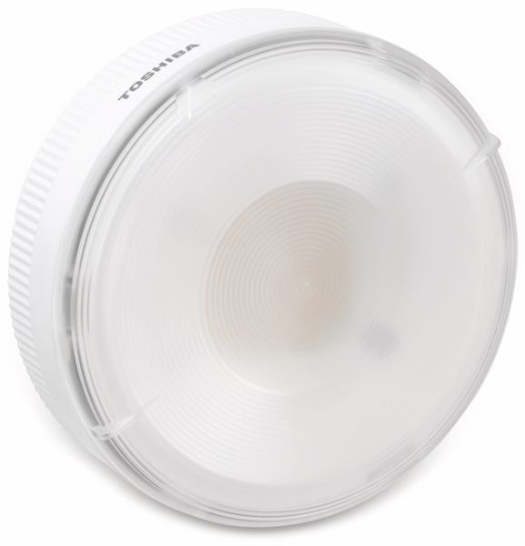 LED-Lampe TOSHIBA LEV162318W830ME, GH76p, EEK: A, 17,8 W, 965 lm, 3000 K - Produktbild 1