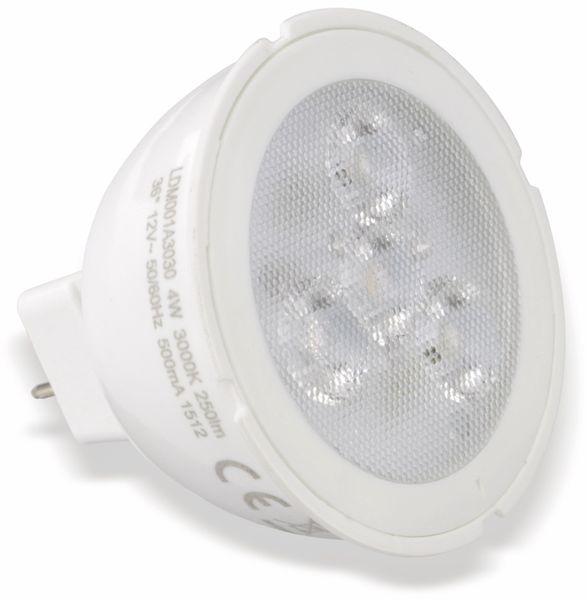 LED-Lampe TOSHIBA LDM001A3030-EUC, GU5.3, EEK: A+, 4 W, 250 lm, 3000 K - Produktbild 1